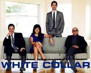 White Collar Peter, Elizabeth, Neal und Mozzie