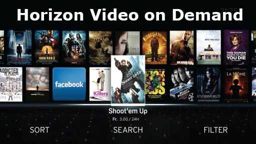 Video on Demand mit Horizon TV
