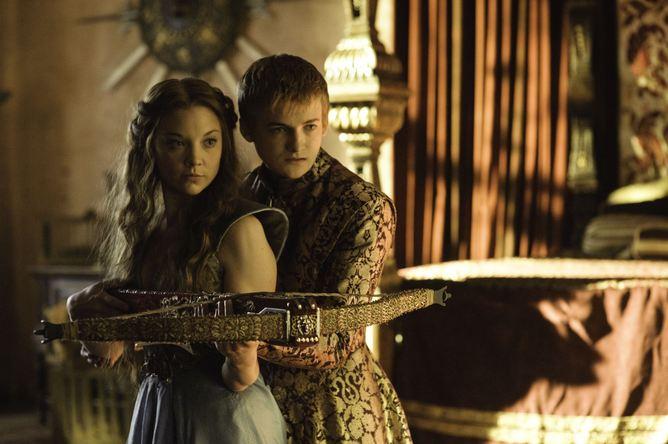 Joffrey mit Margarey Tyrell
