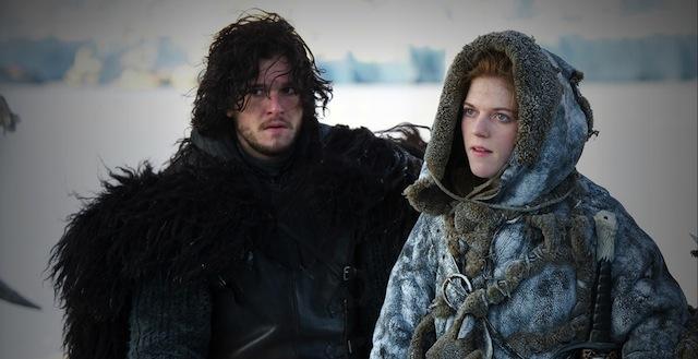 Jon Snow mit seiner Wildling Liebe Ygritte