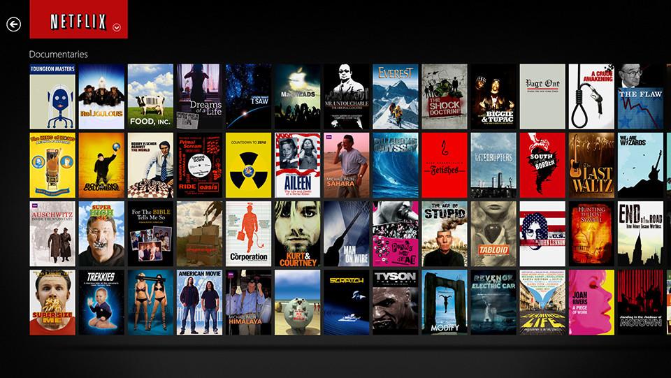 Netflix Dokumentationen