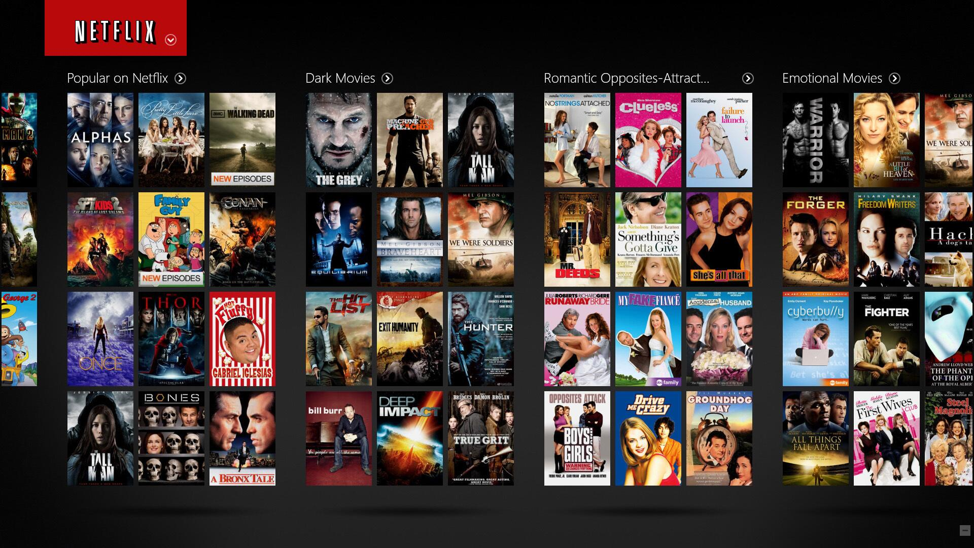 Netflix Filme