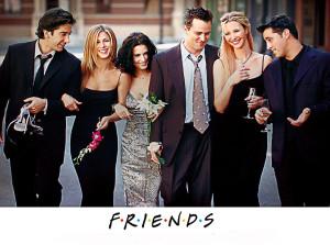Friends die beliebteste Serie der Hollywood Stars