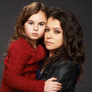 Skyler Wexler als Kira in Orphan Black